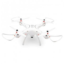 image of SYMA X8 PRO GPS BRUSHED RC QUADCOPTER RTF WIFI FPV 720P CAMERA / ALTITUDE HOLD / ONE KEY RETURN (WHITE) 0