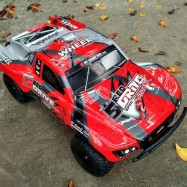 image of 1:10 SCALE 27HZ 4CH 4WD 35KM/H RC OFF-ROAD ELECTRIC RACING CAR RTR 68.50 x 34.80 x 22.00 cm