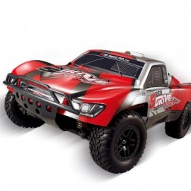 image of HUANQI 727 1:10 SCALE 27HZ 4CH 4WD 35KM/H RC OFF-ROAD ELECTRIC RACING CAR RTR (RED) ??