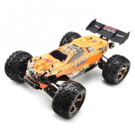 image of VKAR RACING BISON V2 1:10 80 - 90KM/H 2.4GHZ 2CH 4WD WATERPROOF BRUSHLESS RC TRUCK - RTR (ORANGE) WITH HOBBYWING MXA10 RTR 120A ESC