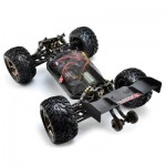 VKAR RACING BISON V2 1:10 80 - 90KM/H 2.4GHZ 2CH 4WD WATERPROOF BRUSHLESS RC TRUCK - RTR (ORANGE) WITH HOBBYWING MXA10 RTR 120A ESC