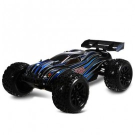 image of JLB RACING 21101 1:10 4WD RC BRUSHLESS OFF-ROAD TRUCK RTR 80KM/H / 3670 2500KV BRUSHLESS MOTOR / WHEELIE FUNCTION (BLACK) WITH HOBBYWING 120A ESC