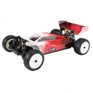 image of VKAR RACING V.4B 1:10 80KM/H 2.4GHZ 2CH 4WD BRUSHLESS RC TRUCK - RTR (RED) 0
