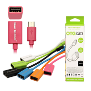 image of SGC18 SUN GLOBAL OTG CABLE TO MICRO PORT