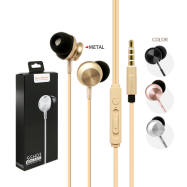 image of SGH03 METAL & HI-FI WIRE EARPHONE WITH MIC