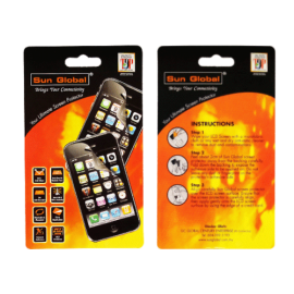 image of SUNGLOBAL SCREEN PROTECTOR - BLACK BERRY 9800