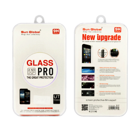 image of SUNGLOBAL SCREEN PROTECTOR TEMPERED GLASS - I PHONE 4