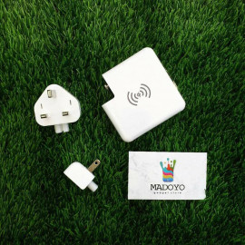 image of 3 in 1 Super Wireless Powebank Charger