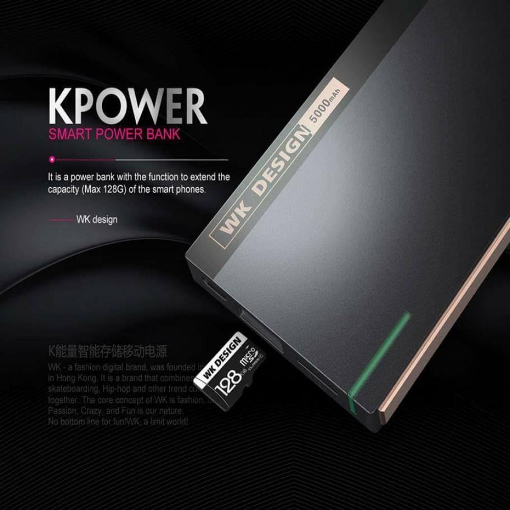 WK Design 5000 mah Storage Power Bank KPower