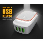 LDNIO A3305 3-Port USB Travel Charger Adapter