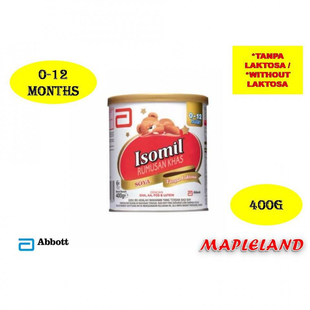 ISOMIL (0-12 MONTHS) 400G TANPA LAKTOSA