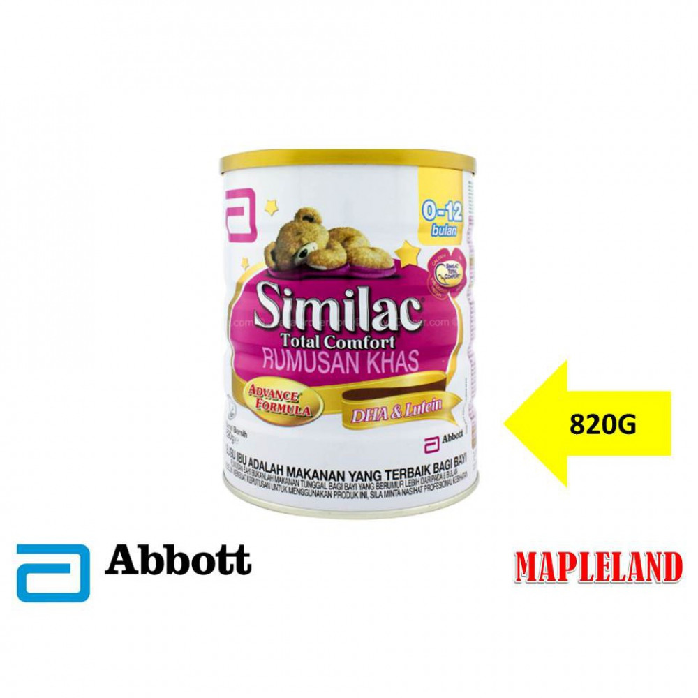 SIMILAC TOTAL COMFORT (0-12 MONTHS) 820G