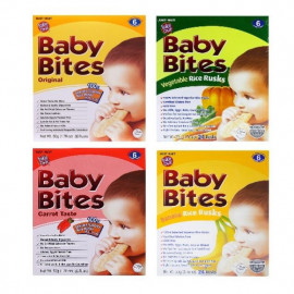 image of Baby Bites All Flavour 50g(24 RUSKS)