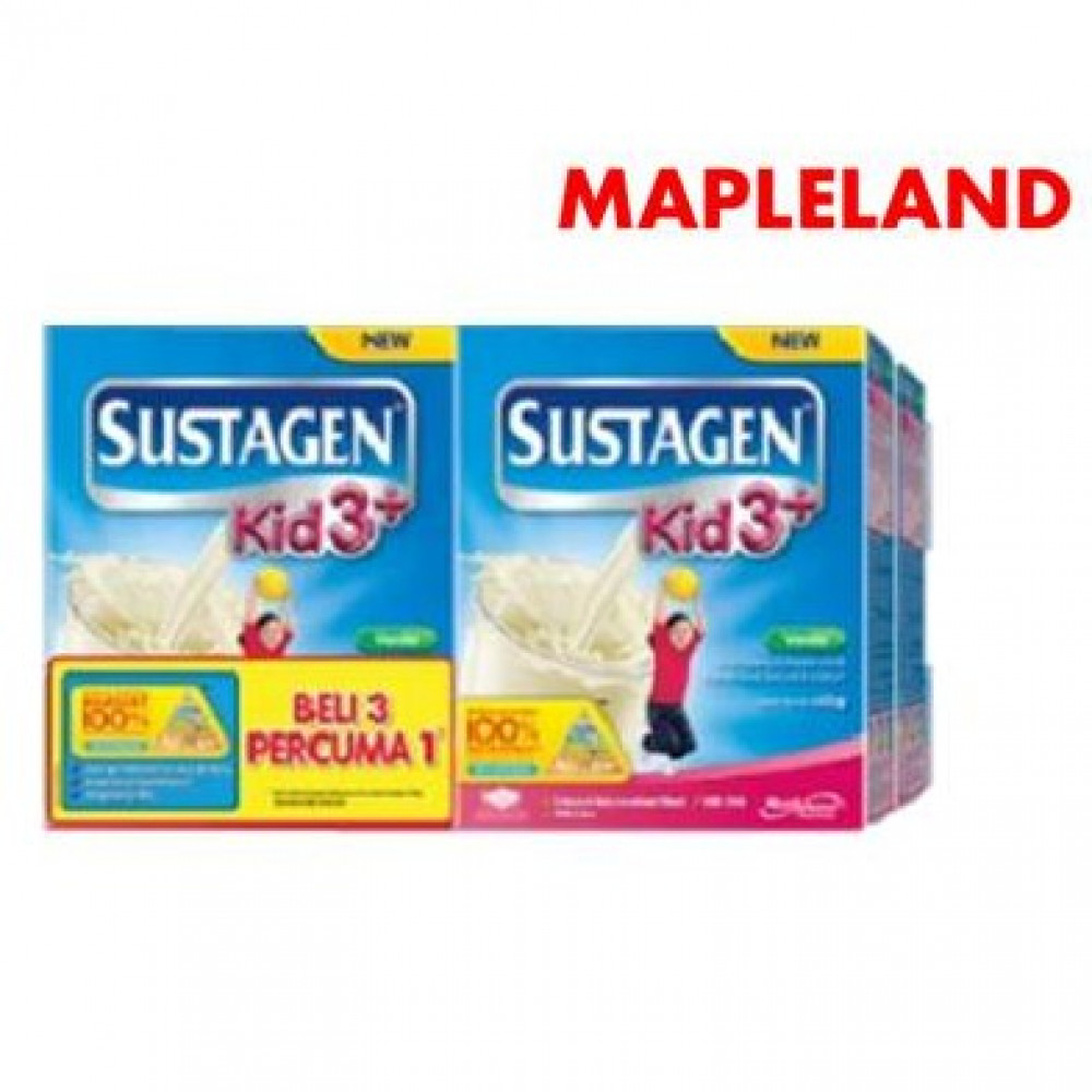 SUSTAGEN KID 3+ 600G X 4 BOXES