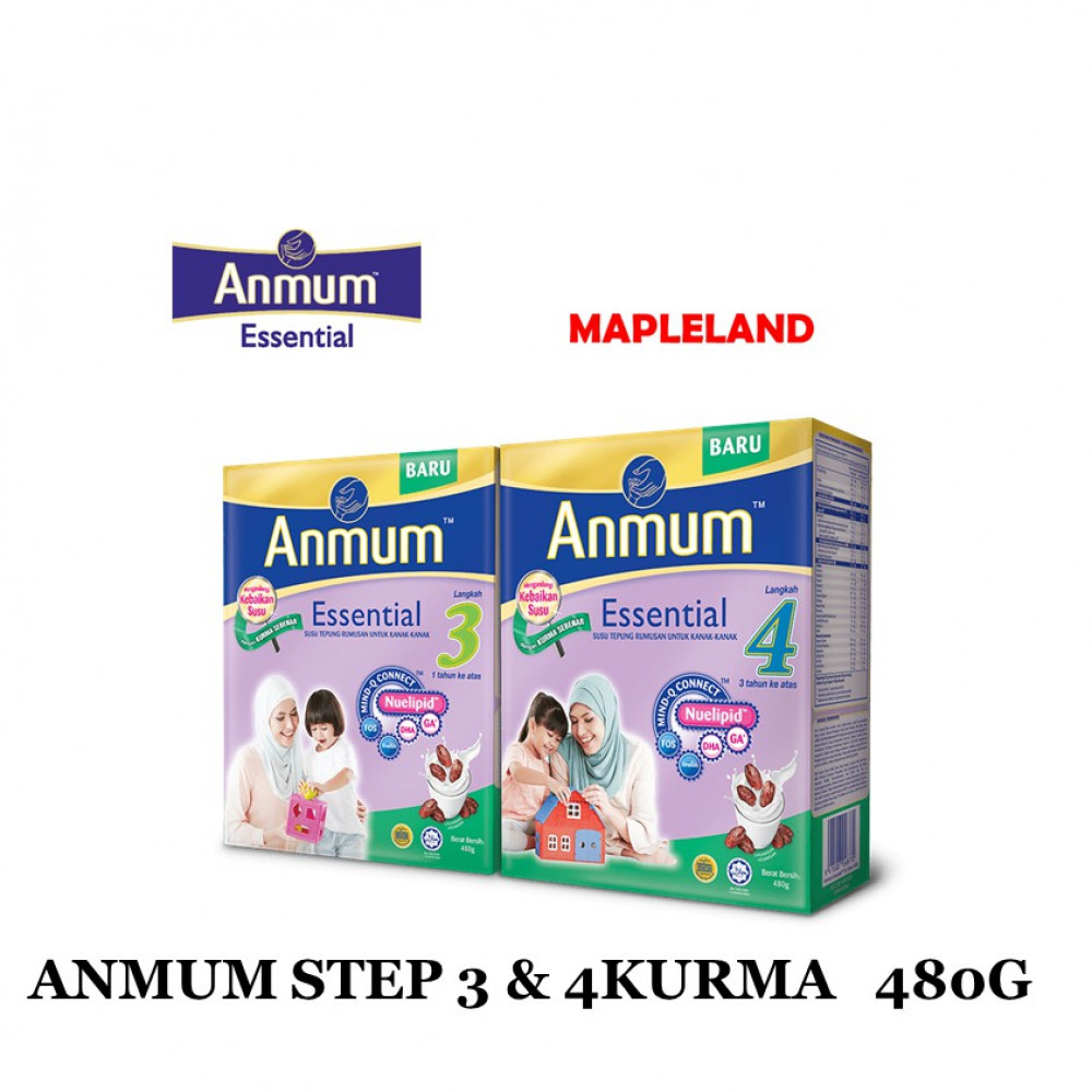 ANMUM ESSENTIAL WITH DATES STEP 3&4 480G
