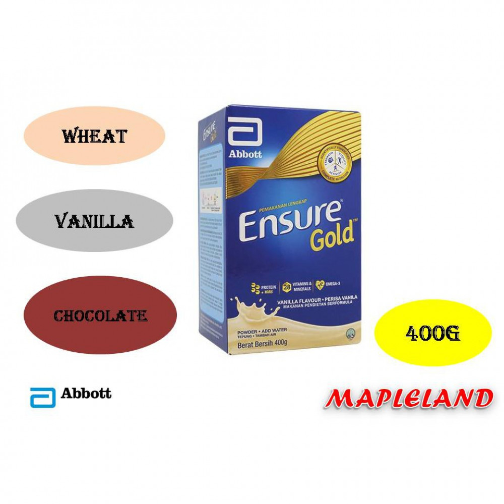 ENSURE GOLD 400G all flavor