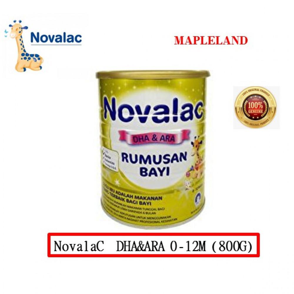 Novalac DHA&ARA 800G 0-12BULAN