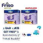 FrisoGold Step 4 ( 2 x 1.2Kg ) With FreeGift