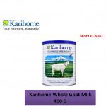 Karihome Whole Goat Milk 400g