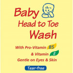 Pureen Baby Head to Toe Wash (600ml) - Refill Pack