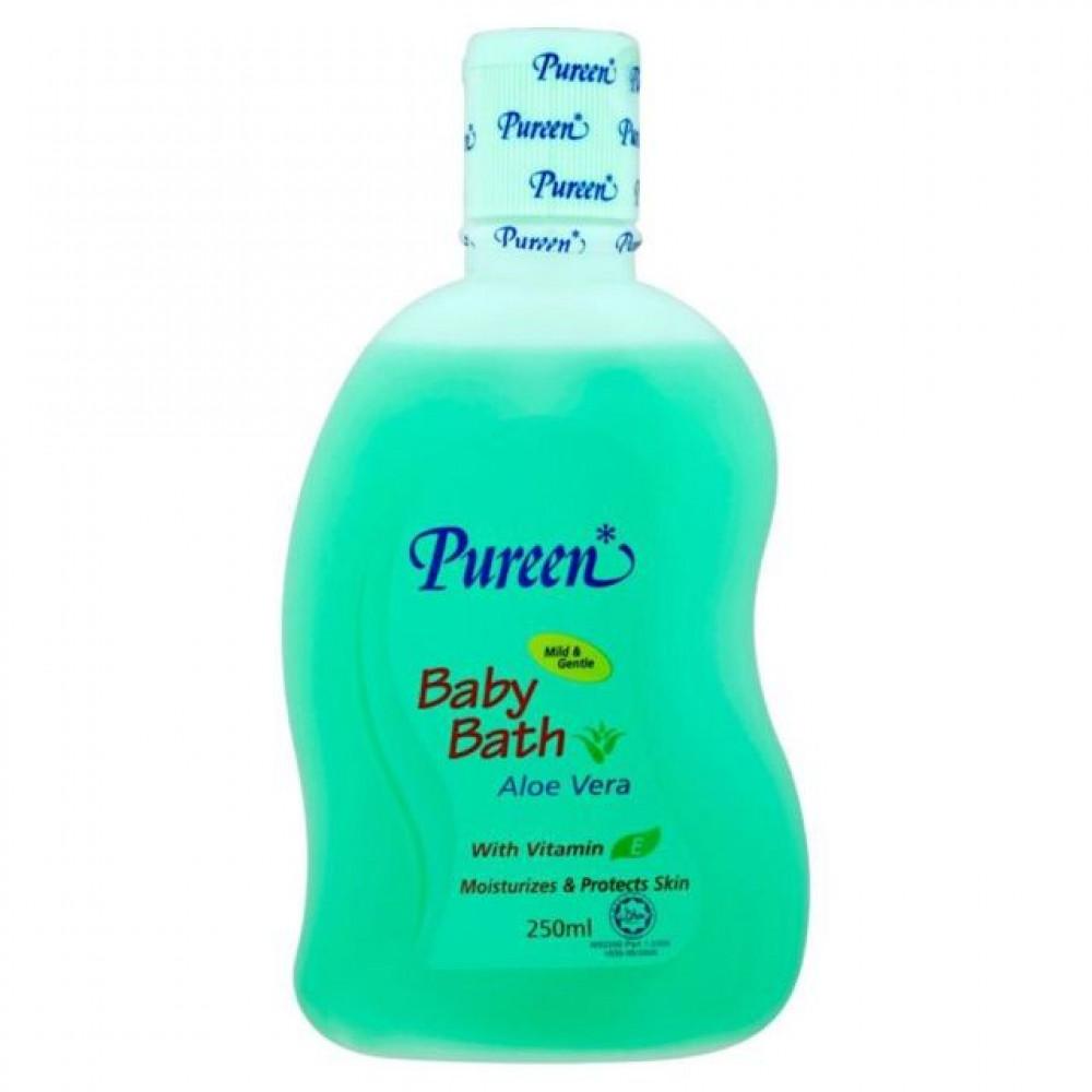 Pureen baby bath 250ml Aloe Vera