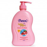 Pureen Yogurt head to toe 750ml PEACH AND CHERRY