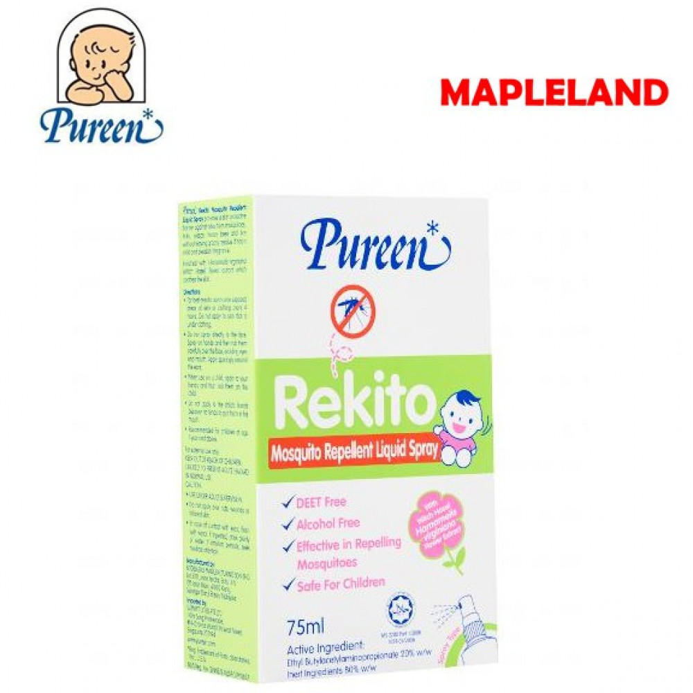 Pureen Mosquito Rekito Repellent Liquid