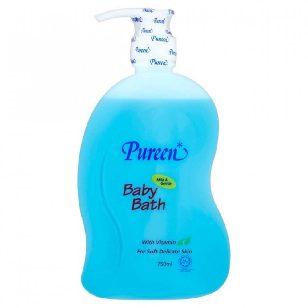Pureen Baby Bath - Vitamin E (750ml)