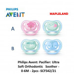 Philips Avent Pack Pacifiers 0-6 month (TWIN PACK)