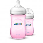 Avent Natural Pink Bottle 9oz / 260ml SINGLE