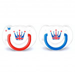 AVENT SOOTHER(6-18 Month) Twin Pack