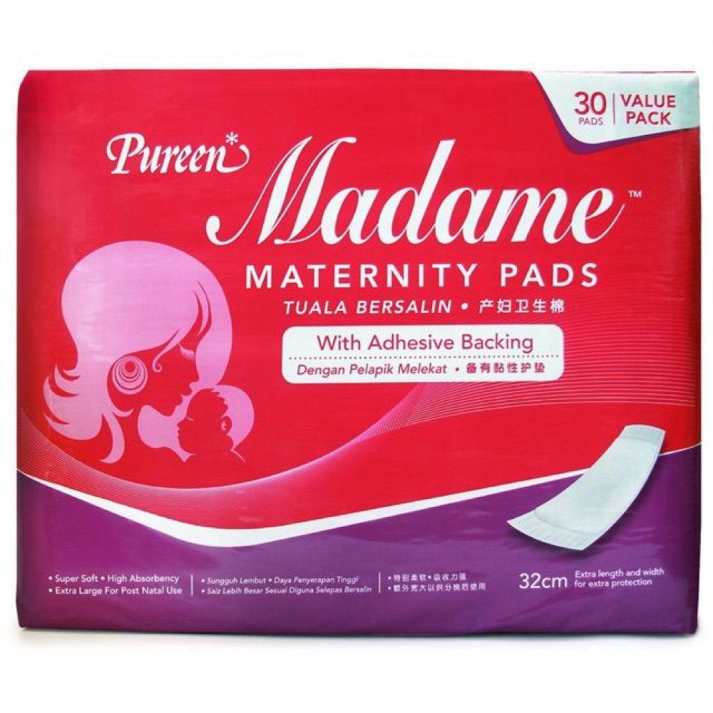 Pureen Madame Maternity Pads (30s)