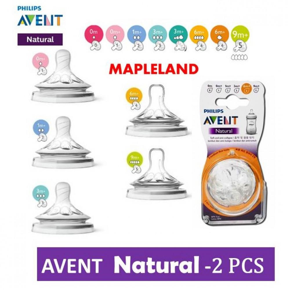 Avent Teat Natural 2pcs