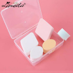 Lameila (5pcs) Beauty Makeup Foundation Sponge Cosmetic Wet or Dry Puff (Included Box)