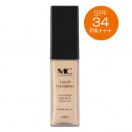 image of MC Collection Liquid Foundation Spf 34pa +++