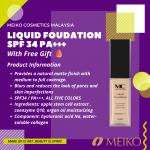 MC Collection Liquid Foundation Spf 34pa +++
