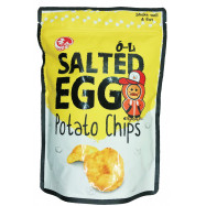 image of SALTEG EGG POTATO CHIPS