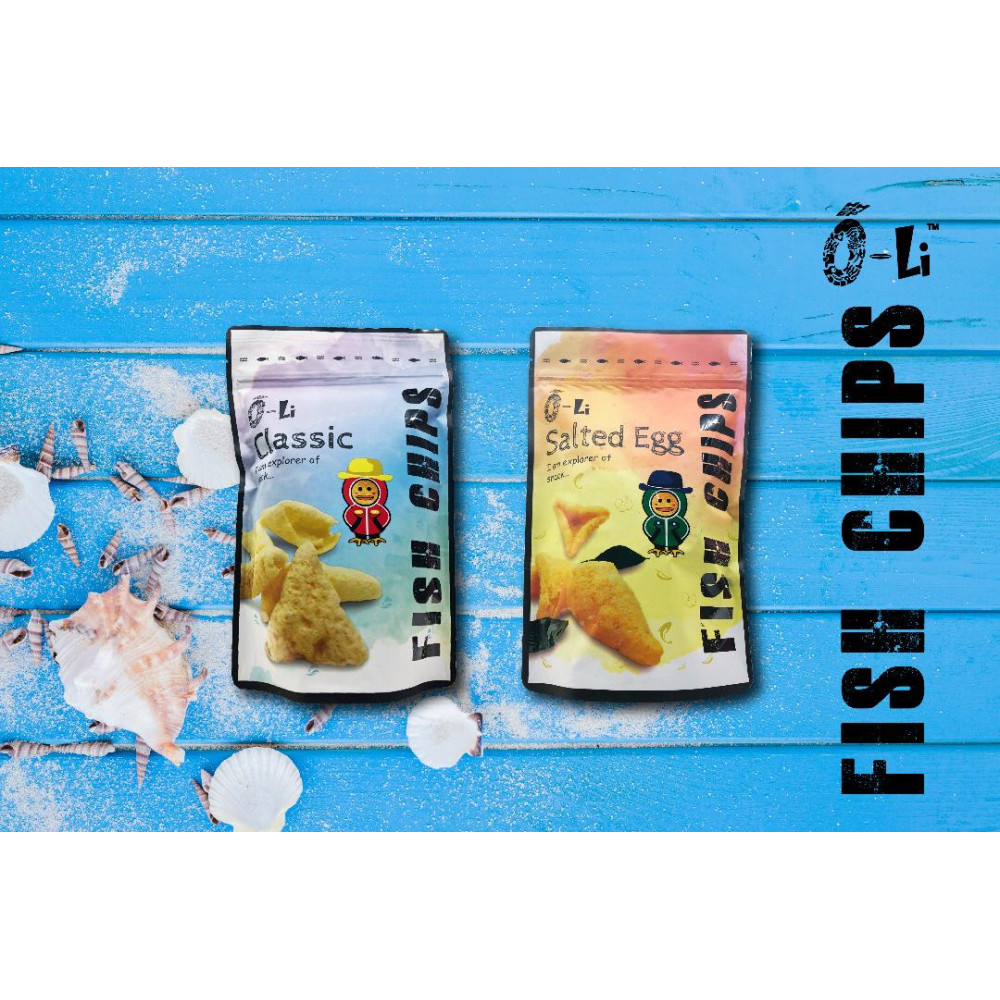 O-LI FISH CHIPS CLASSIC / SALTED EGG FISH CHIPS