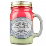 NATURAL LOOKS - mmm…Nice Melons! Mason (3 layers) (SCENTED CANDLE)