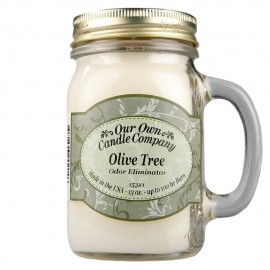 image of NATURAL LOOKS - Olive Tree Odour Eliminator Mason (SCENTED CANDLE)