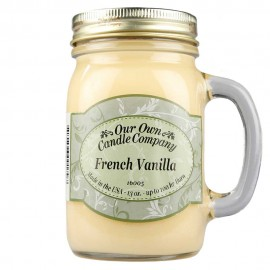 image of NATURAL LOOKS - French Vanilla Mason (SCENTED CANDLE)