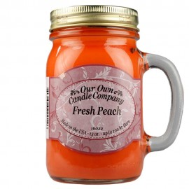 image of NATURAL LOOKS - Fresh Peach Mason (SCENTED CANDLE)
