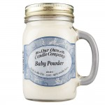 NATURAL LOOKS - Baby Powder Mason (SCENTED CANDLE)
