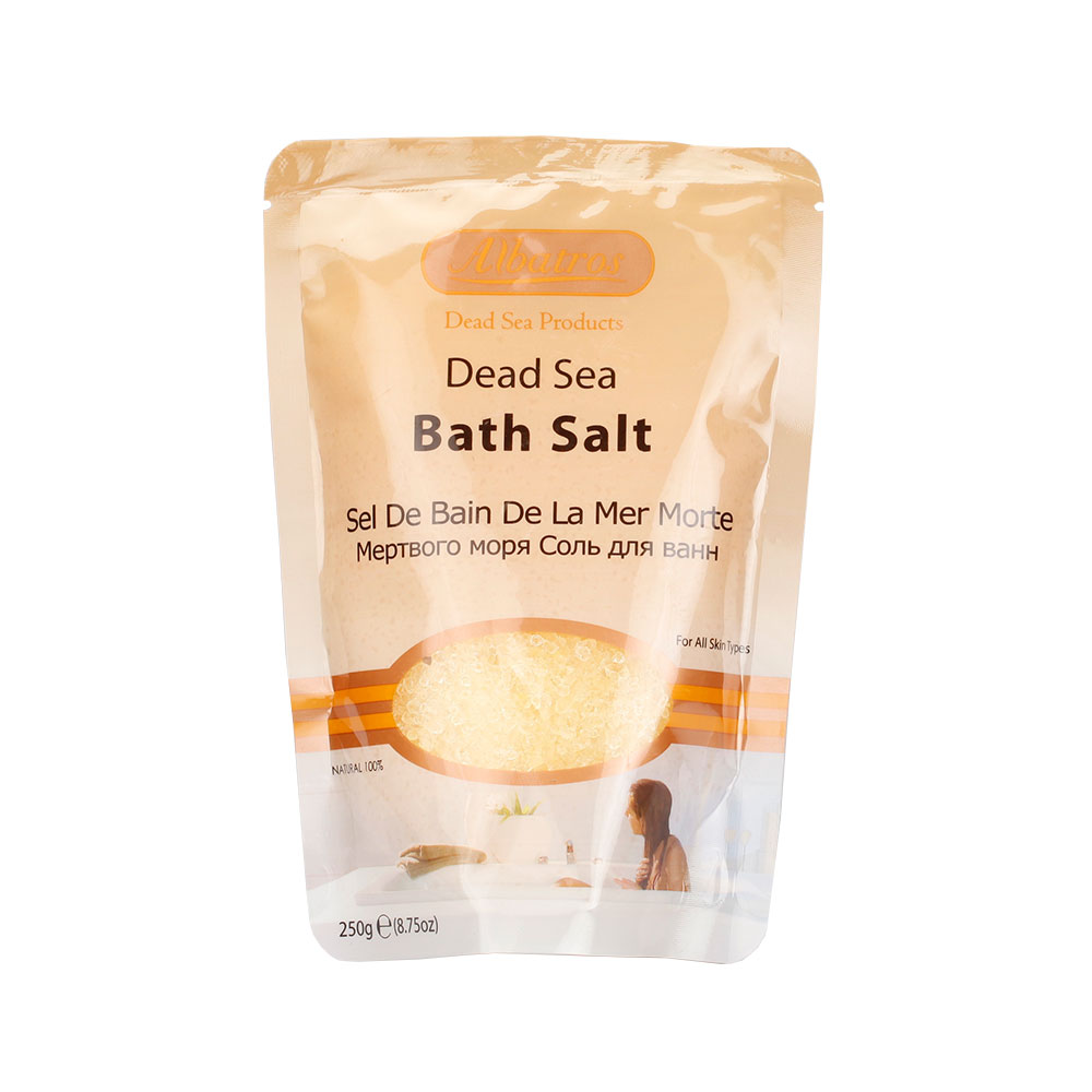 NATURAL LOOKS - Albatros Bath Salt Bag Lemon 250g