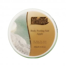 image of NATURAL LOOKS - Albatros Body Peeling Salt Apple 300g
