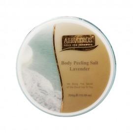 image of NATURAL LOOKS - Albatros Body Peeling Salt Lavender 300g