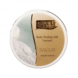 image of NATURAL LOOKS - Albatros Body Peeling Salt Normal 300g