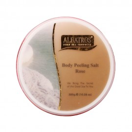 image of NATURAL LOOKS - Albatros Body Peeling Salt Rose 300g