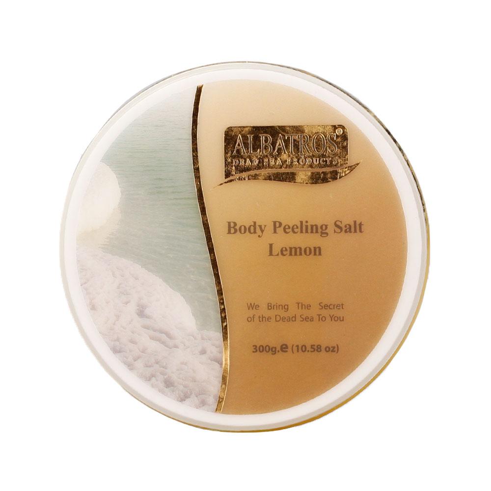 NATURAL LOOKS - Albatros Body Peeling Salt Lemon 300g