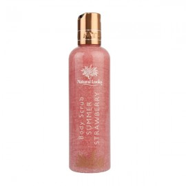 image of NATURAL LOOKS - Strawberry Body Scrub 250ML